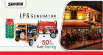 LPG Generator Store in Bangladesh